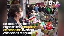 Quand un groupe de distribution alimentaire simulait une pandémie