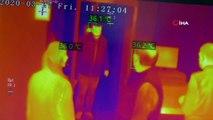 Belediye Binası Girişinde Termal Kameralı Önlem