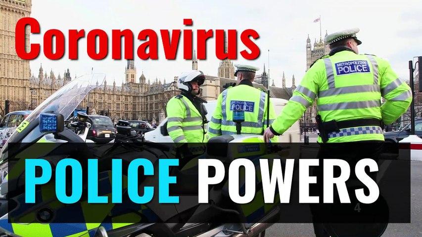 Coronavirus police powers