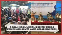 Organisasi Jurnalis Kritik Keras Kemenkomarves yang Gelar Konpres Tatap Muka