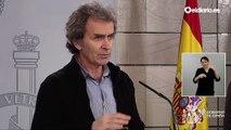 Fernando Simón explica la evolución de la curva los próximos días