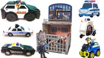 Paw Patrol Chase and Lots of Police Cars and Vehicles