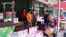 Thais are panic buying eggs after state of emergency declared