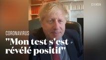 Boris Johnson annonce qu'il est atteint du Covid-19