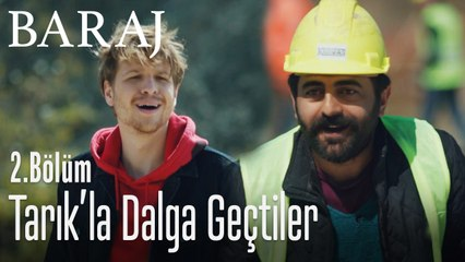 İşçiler Tarık'la dalga geçti - Baraj 2. Bölüm