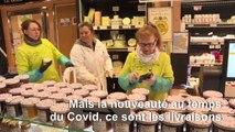 Coronavirus: à Versailles, les commerces livrent les habitants confinés