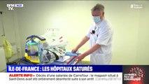 Coronavirus: en Ile-de-France, les hôpitaux bientôt saturés
