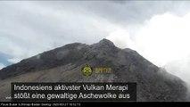 Vulkan in Indonesien stößt 5000 Meter hohe Aschewolke aus