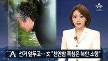 """선거 앞두고…文, 이례적으로 """"천안함 폭침은 북한 소행"""""""