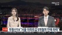 """부동산114 """"서울 아파트값 9개월여 만에 하락"""""""