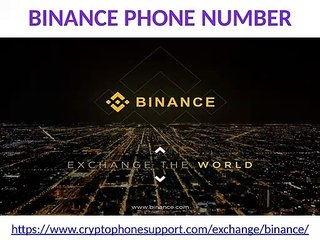 Unable data available on Binance customer service number