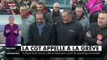 La CGT appelle à la grève