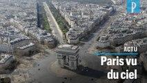 Confinement : les saisissantes images d'un Paris désert vu du ciel