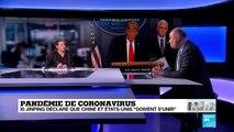 Pandémie de Coronavirus : Décryptage de la stratégie américaine et chinoise
