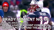 Tom Brady No. 16 Moment: Patriots Overcome 24-0 Deficit To Beat Peyton Manning, Broncos