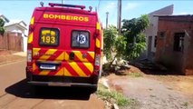 Criança de dois anos fica ferida após cair em residência no Bairro Brasmadeira