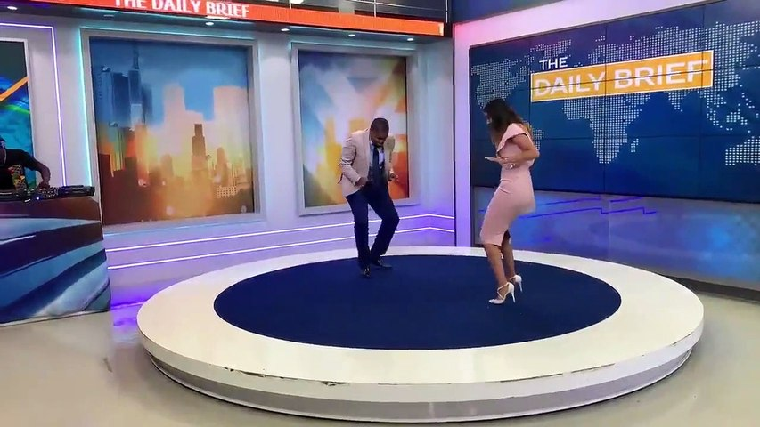 K24 Duo Delights Kenyans on Air With Their Dancing Skills