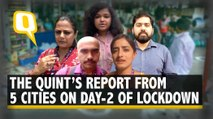 COVID-19: How Did India Function on Day-2 of Lockdown? Here's The Quint's Ground Report