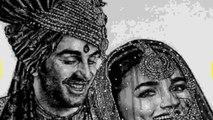 Lockdown के बीच Ranbir Kapoor Alia Bhatt की शादी की पहली तस्वीर आई सामने । Boldsky