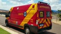 Criança de três anos fica ferida ao sofrer queda no Conjunto Riviera