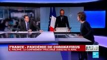 Coronavirus en France : Prolongation du confinement pour 2 semaines, jusqu'au 15 avril
