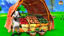 Baby Feeding Food to Domestic Animals on Surprise Eggs Train Cartoon for Children