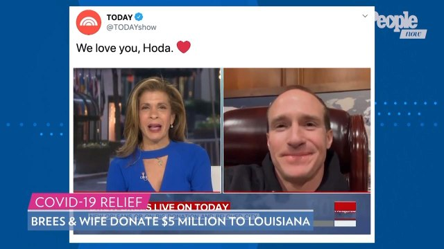 Hoda Kotb Breaks Down in Tears After Catching Up with Drew Brees About Coronavirus in Louisiana