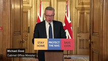 Gove: PM continuing to lead Covid-19 efforts from isolation