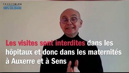 """Coronavirus : France Bleu Auxerre répond à vos questions, """"les visites à la maternité pour les futurs papas"""""""