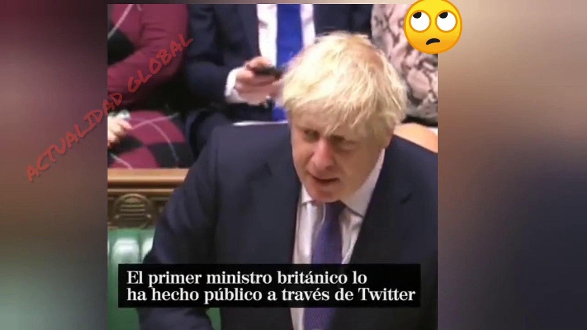Boris Johnson Confirma Que tiene CORONA VIRUS