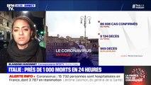 L'Italie enregistre son pire bilan depuis le début de l'épidémie de coronavirus