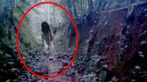 Ghost Walking In An Abandoned Place Caught On CCTV Camera--