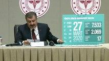 Sağlık Bakanı Koca; Bugün Kaybettiğimiz 17 Kişiyle Can Kaybımız 92'yi Buldu