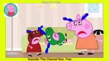 Peppa Pig English Character Episodes New Masha And TheBear Finger Family Nursery Rhymes action