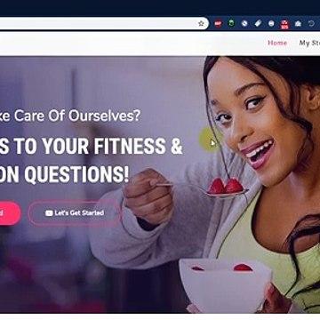 Health Coach Wordpress website demo