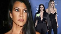 Kourtney Kardashian Quits KUWTK & Shades Khloe & Kim Kardashian