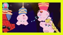 Peppa Pig Crying Dinosaur George Superheroes Finger Family Nursery Rhymes Song Episode Parody
