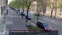 Confinement: dans les villes le silence règne