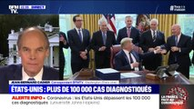 Coronavirus: les États-Unis dépassent les 100.000 cas officiellement déclarés