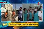 VES: se realizó desinfección de los exteriores de la Villa Panamericana