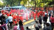 逾百人参与 大城堡花园消毒(2)