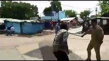 Police action in lockdown in India Corona lockdown per police ki sakhti
