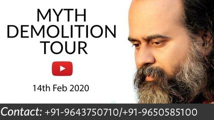 Myth Demolition Tour with Acharya Prashant || Live from Rishikesh (14-02-2020)