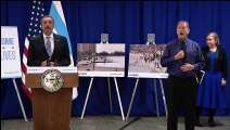 Coronavirus in Chicago - Mayor speaks after closing lakefront to public
