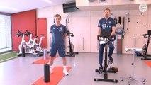 Schweinsteiger gatecrashes Bayern's online training session