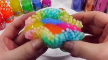 Edy Play Toys - Kids Play Slime Glitter All Mixing DIY Learn Colors Orbeez Slime Toys For Kids