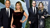 Tom Hanks And Wife Rita Wilson Return To Los Angeles