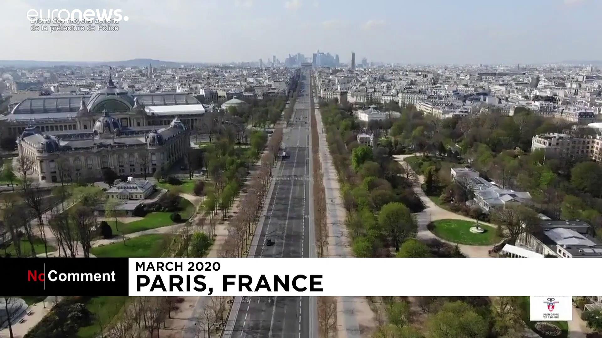 Paris et Wuhan, sinistrées par le coronavirus