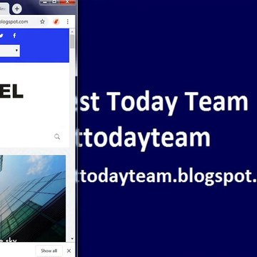 How to download Opensource Pixel blogger template _ [Team Today Team]