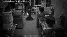 Ghost In Office - Top Ghost Videos Caught On CCTV Camera - Scary Videos